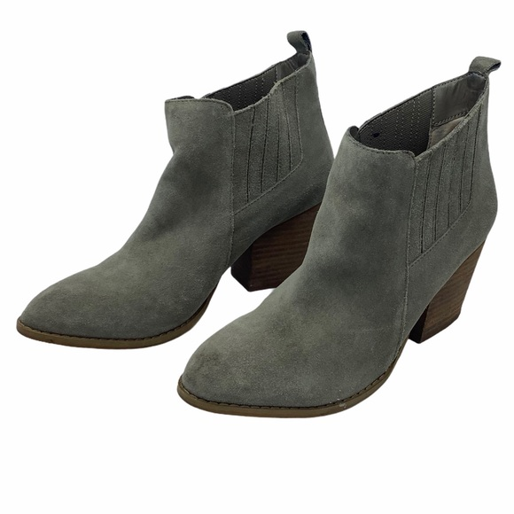 Crown Vintage ankle boots 'Lasso' Western suede  8
